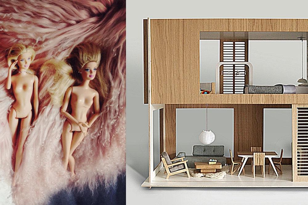 Barbie Designerhaus
