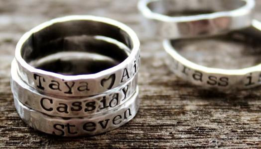 Eine Hand voll Ringe
