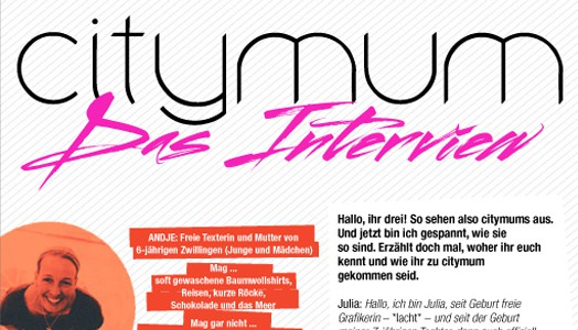 Interview mit Citymum