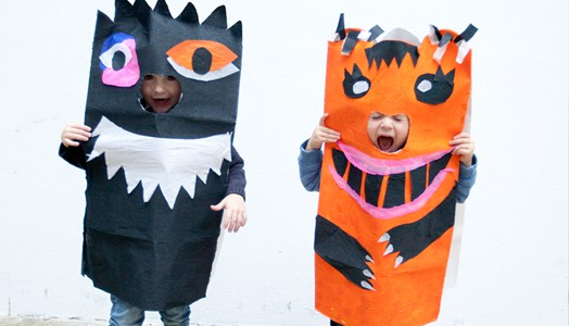 Halloween Bastelset