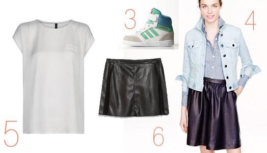 Mein Lieblingsrock-Outfit