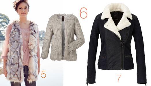 Meine Lieblings-Fake-Fur-Jacken