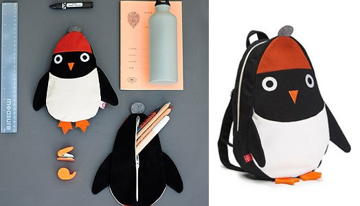 Kinderrucksack Pinguin George