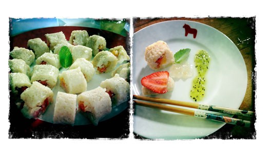 Dieses Sushi lieben Kinder!