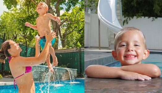 Badespaß im eigenen Garten: So wird der Pool kindersicher