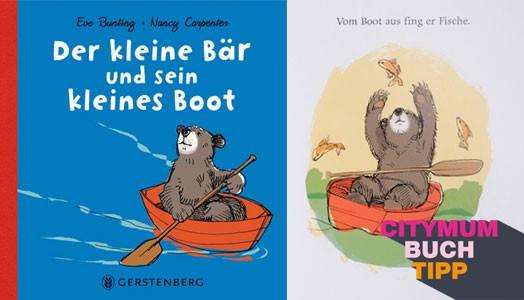 citymum Buchtipp: Der kleine Bär und sein kleines Boot