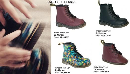 Dr Martens for Sweet little Punks