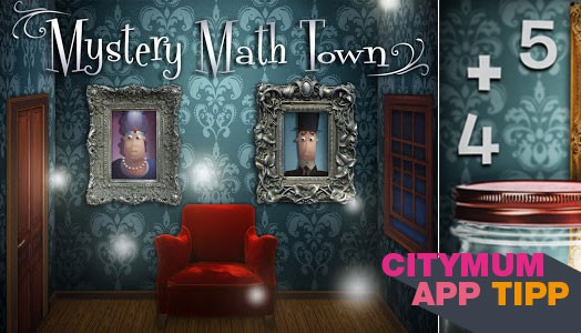 Halloween App Mystery Math Town
