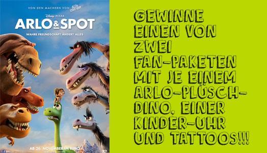 Ab ins Kino: ARLO & SPOT