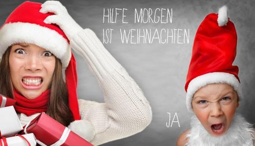 Weihnachtslust statt Weihnachts-Frust!?