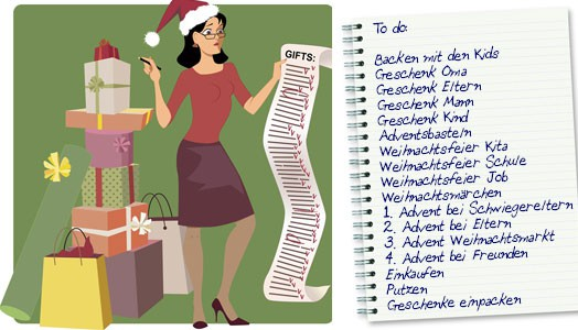 Tipps gegen den Stress vor Weihnachten