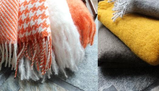 Kuscheln mit Foxford-Decken