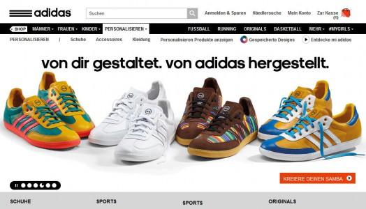 Personalisierte Superstars von adidas
