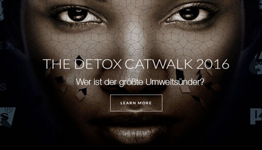 Detox Catwalk von Greenpeace