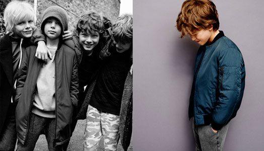 Zara Kids im Herbst