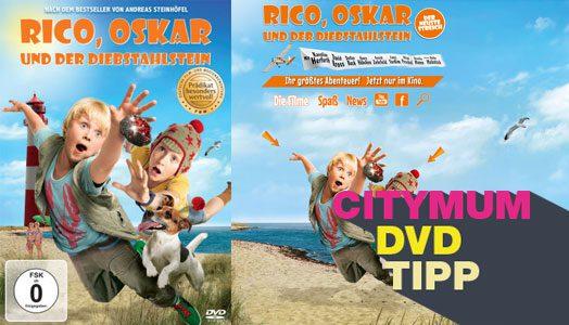 Rico, Oskar und der Diebstahlstein – Citymum DVD-Tipp