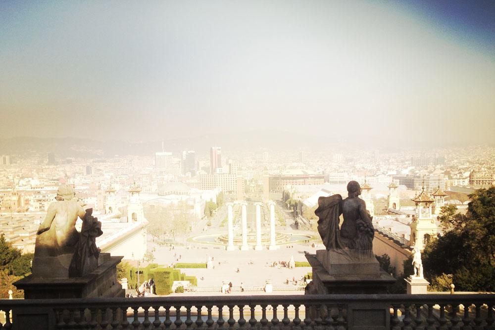 Ausblick auf Barcelona