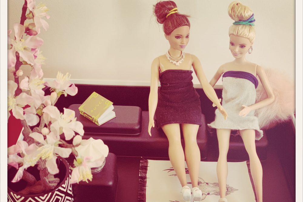 Barbie und Freundin
